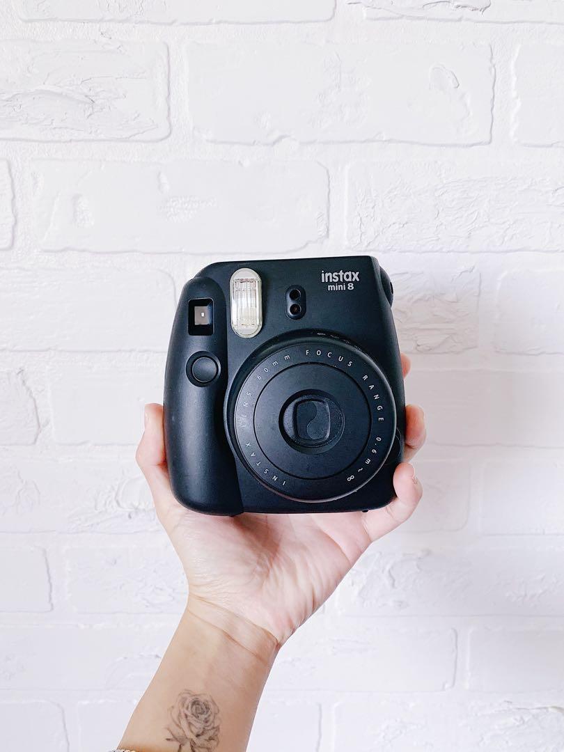 Fujifilm Instax Mini 8 Instant Camera - Black