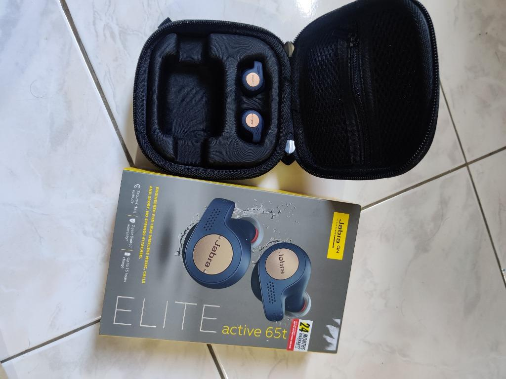 Jabra Elite Active 65t Replacement Earbuds Without Charging Case Electronics Others On Carousell