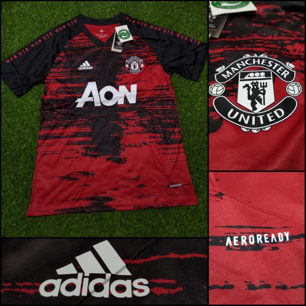 Manchester United Training Kit Sports Sports Apparel On Carousell