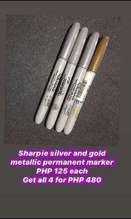 Sharpie metallic permanent markers