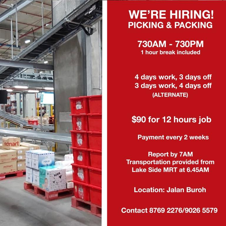 Warehouse Picker and Packer
