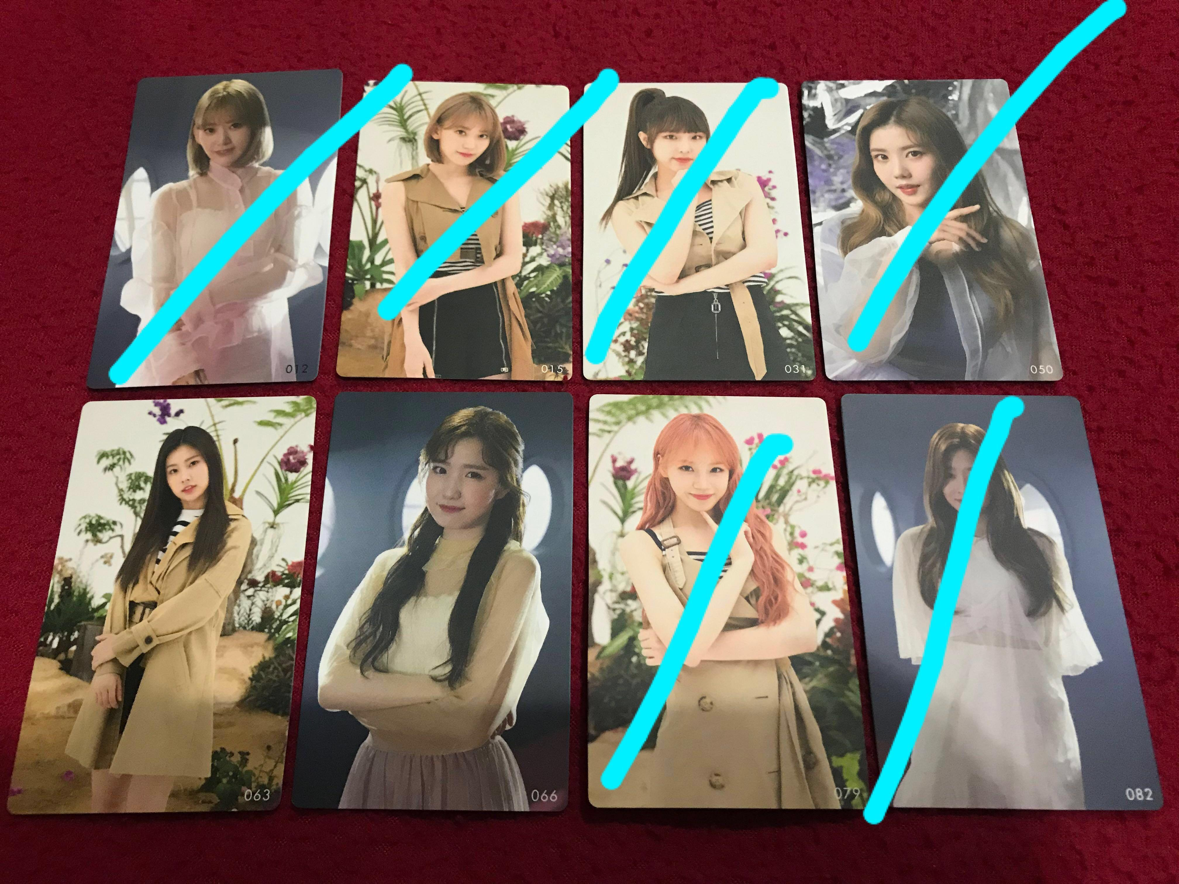 WTS Buenos Aires & Eyes On Me JP &  JP Debut Photocard