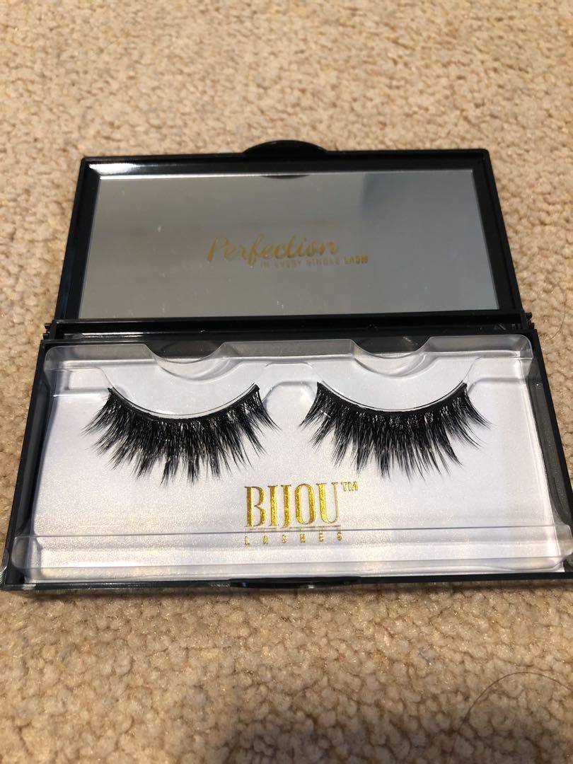 9 sets of Bijou mink eyelashes/fake eyelashes