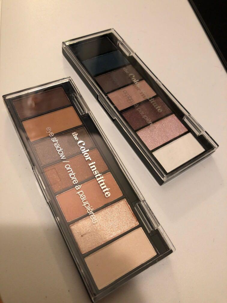 Color institute eye shadow 2 pairs