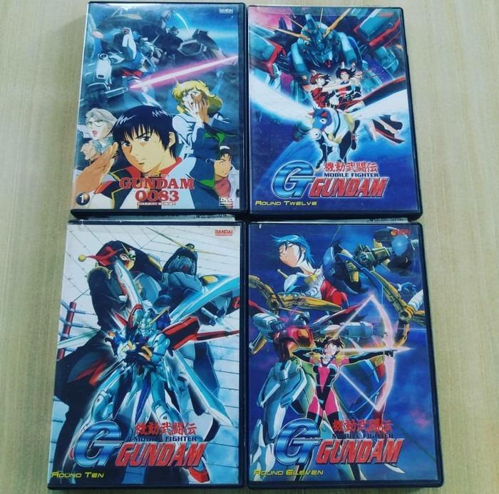 DVD anime Gundam