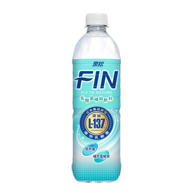 黑松FIN乳酸菌補給飲料 清爽無負擔 現貨買12送1罐(免運)