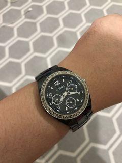 FOSSIL jam tangan CERAMIC - Fossil watch