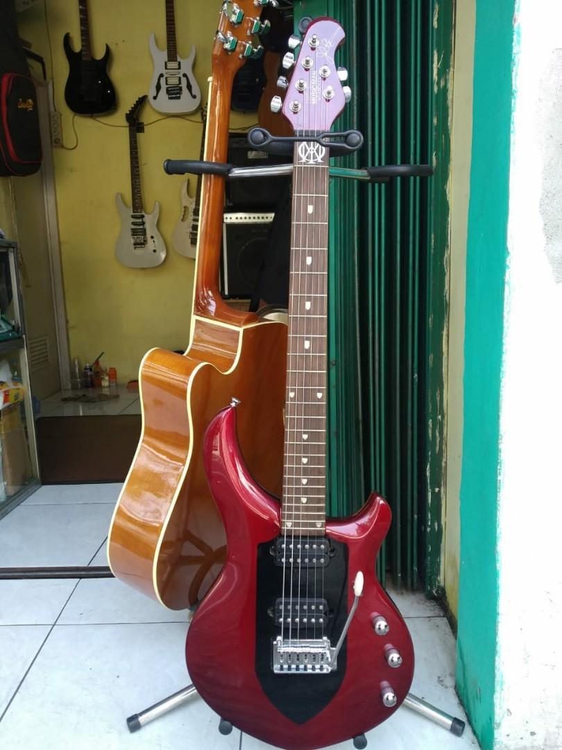 Gitar Listrik Ernieball Musicman custom High Quality