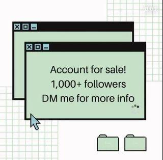 IG Account For Sale