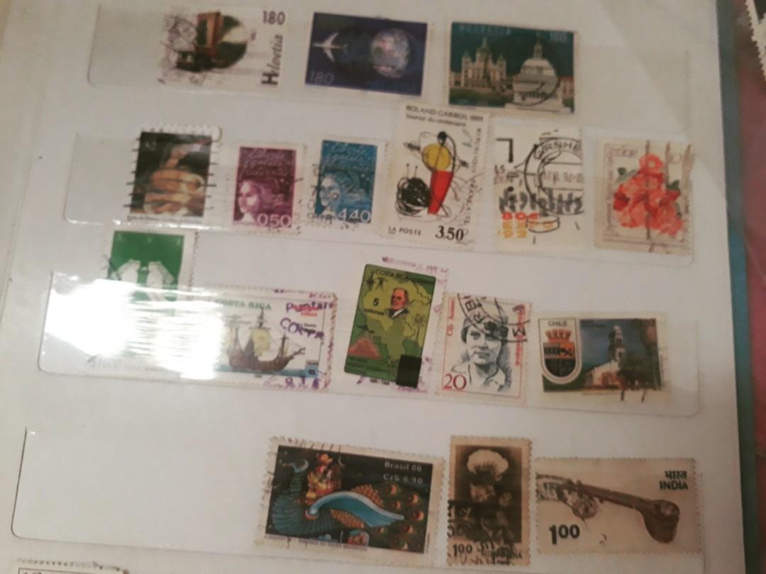 Koleksi Perangko luar negeri