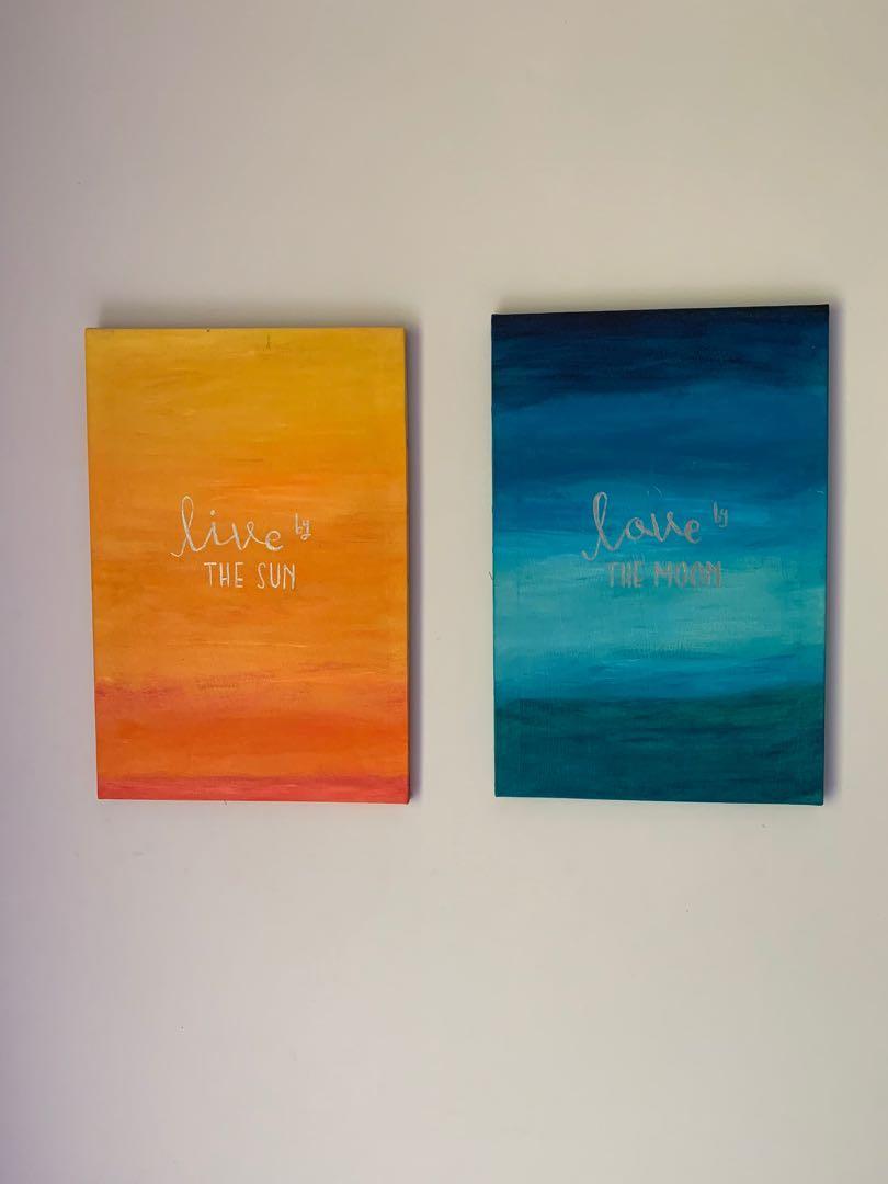 Lukisan Canvas 1 set