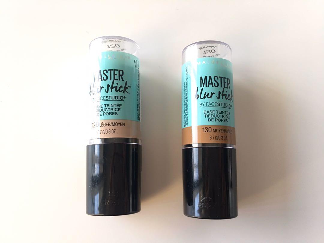 Maybelline Master Blue Tinted Primer Stick  8.7g $8 each