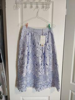 Ted Baker Embroidery Floral Skirt