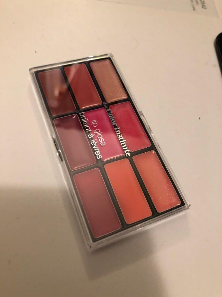 The color institute lip gloss