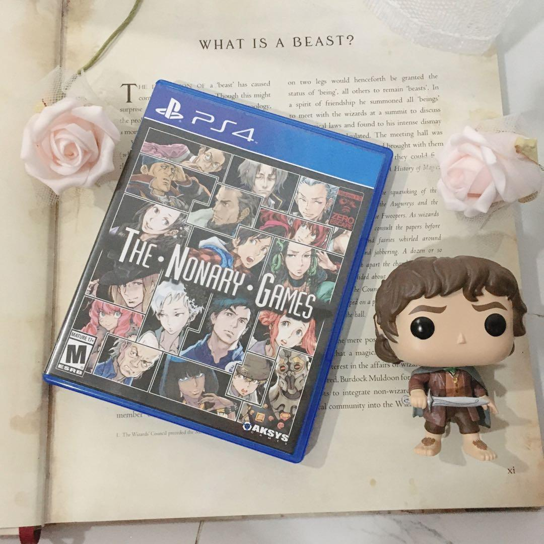 The nonary games ps4 reg all PlayStation kaset game bd