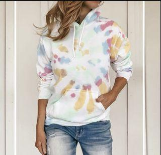 Tie dyed hoodie - brand new