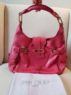 JIMMY CHOO Tulita Large Hobo Bag