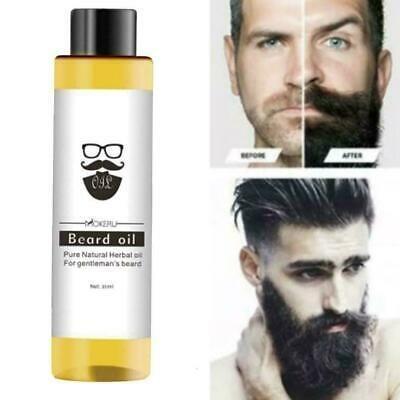 1 pcs 30ml Mokeru 100% Organic Beard Oil Anti Hair loss Oil Hair Products Hair Beard Growth Oil For Growth in Beard Pro Styling TSLM1