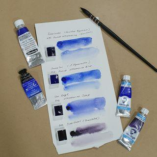 Artist Grade Watercolour - half pan