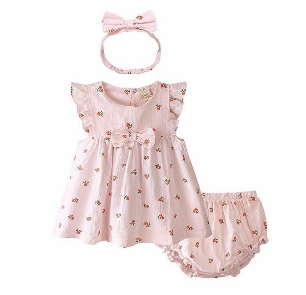Brand new baby girl summer set dress