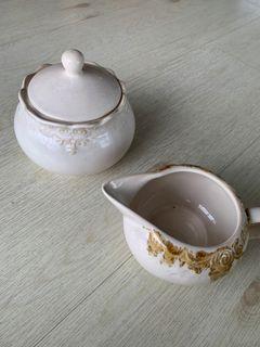 Creamer/ sugar and milk set