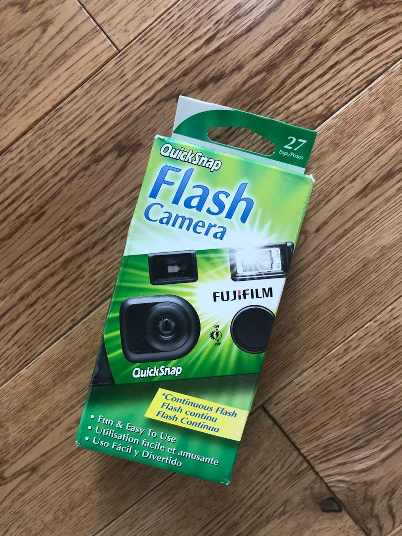 Disposable Camera (with flash)