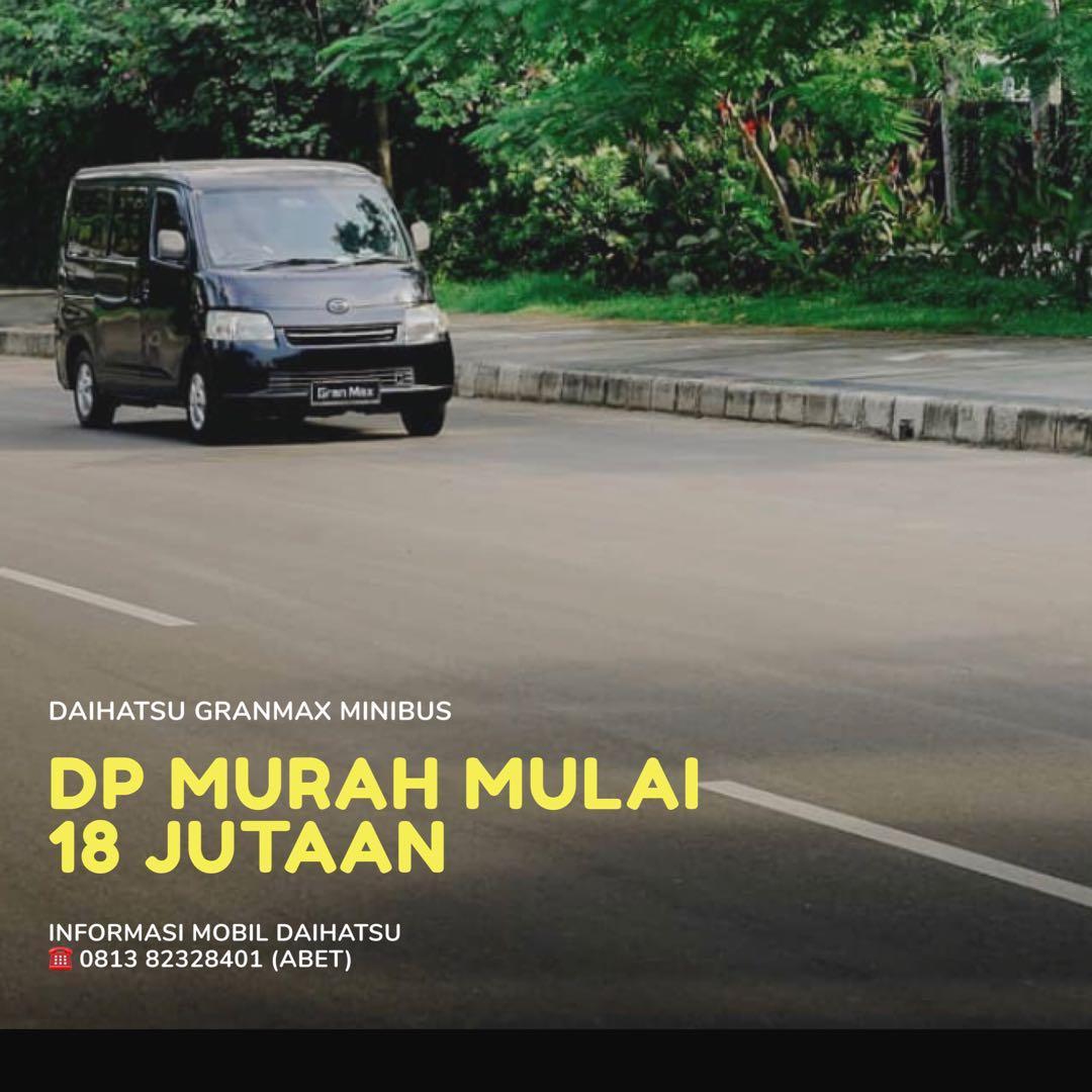 DP RINGAN Daihatsu Granmax Minibus mulai 16 jutaan. Daihatsu Fatmawati