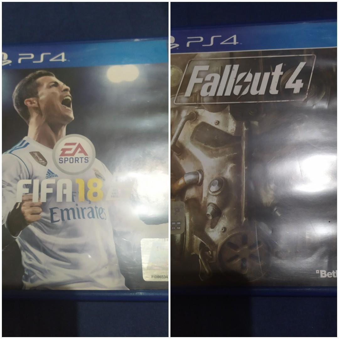 FIFA 18 & Fallout 4 BD Second PS4