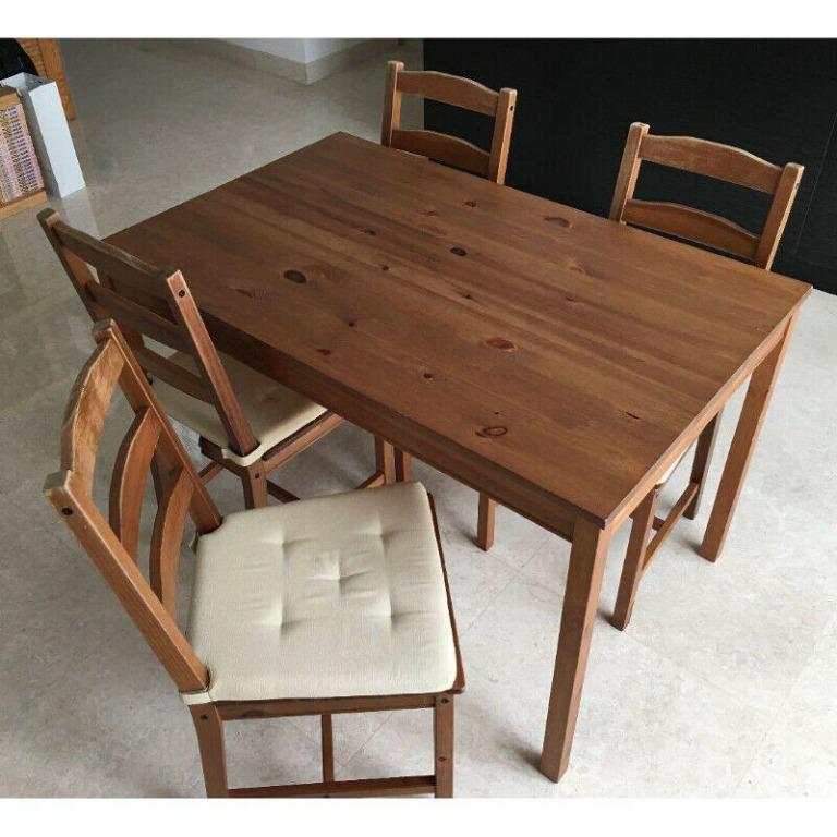 IKEA Jokkmokk Table + Chairs