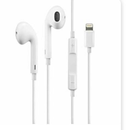 Lightning EarPods for&& Applei₂Phone-7&7+ - MMTN2AM/A