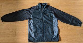 Nike Men Black/Grey Light Jacket in XL