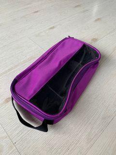 Purple cable organizer kit