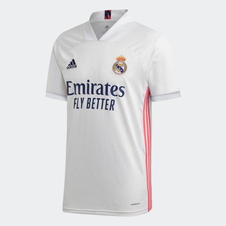 Real Madrid Jersey 20 21 Sports Sports Apparel On Carousell