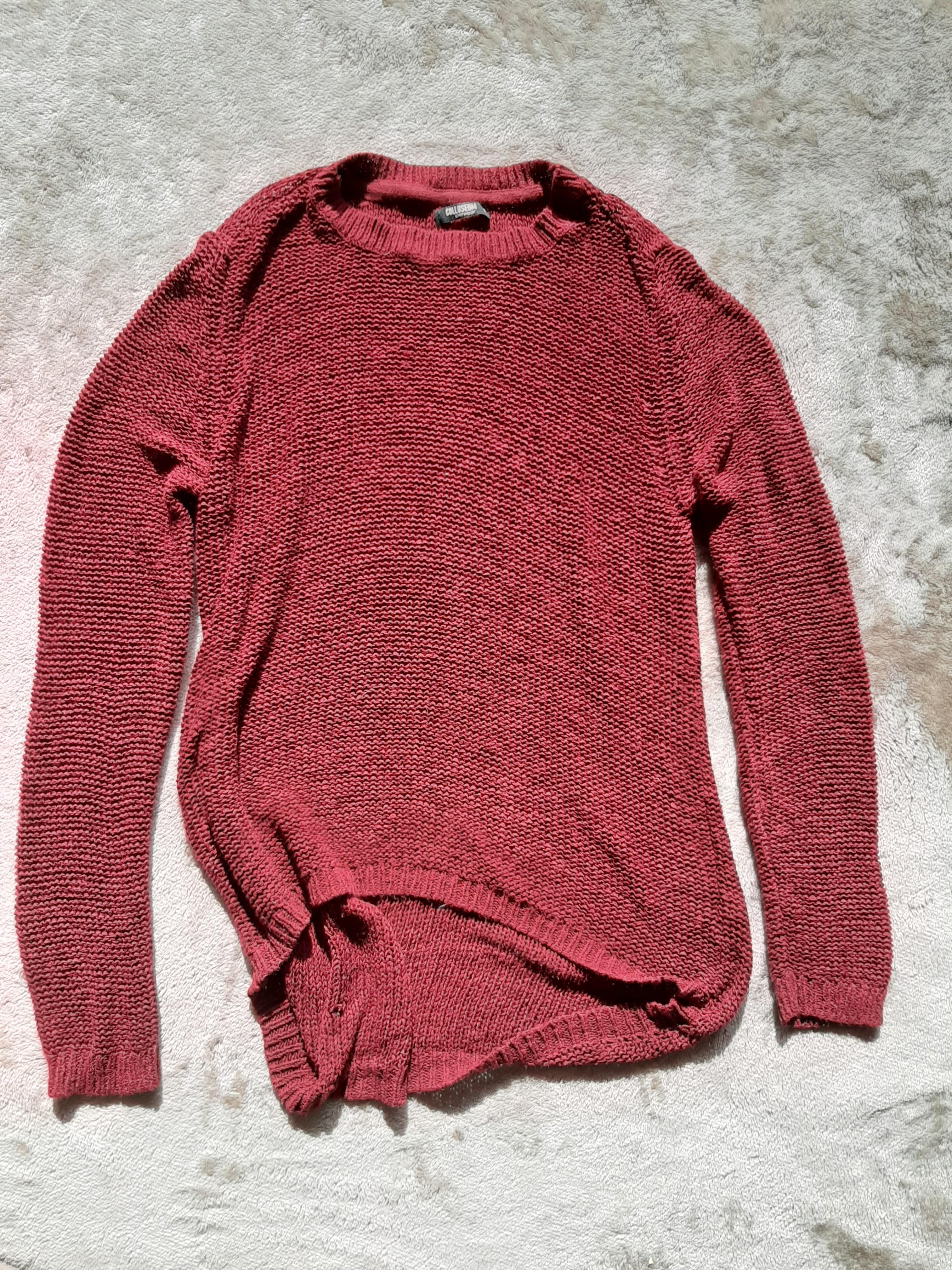 Red Kitted Jumper