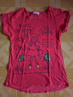 Taskita red shirt #bisnisbaru