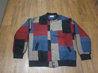 (Unbrand) Velvet Flannel Jacket