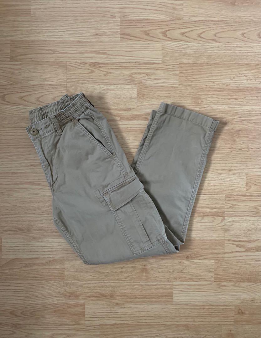 UNI QLO Ezy Wide Fit Cargo Pants