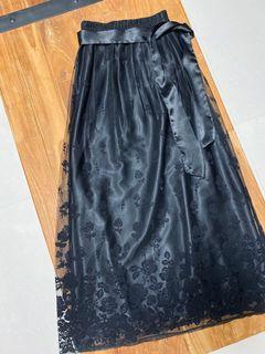義大利製蕾絲長裙