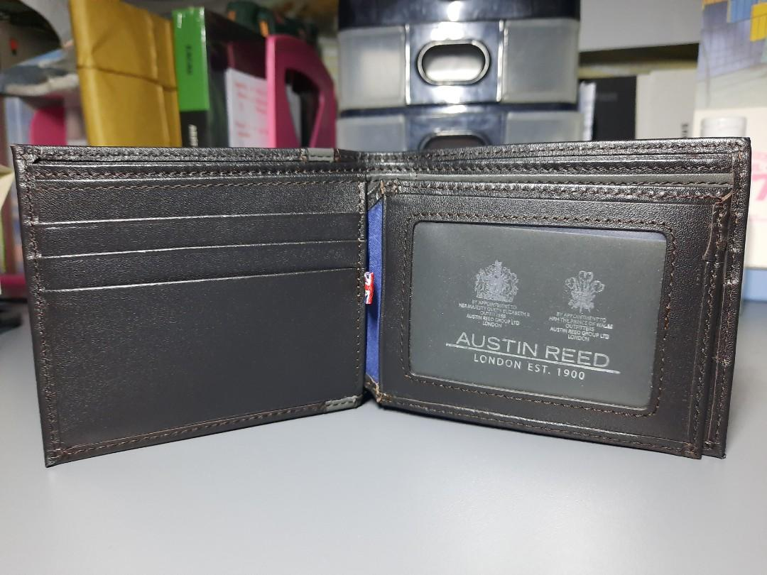 Austin Reed Genuine Leather Wallet Men S Fashion Bags Wallets Wallets On Carousell