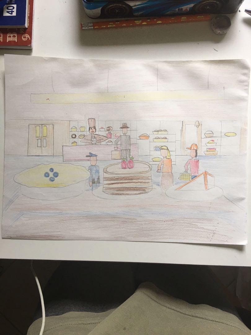 Bakery Drawing