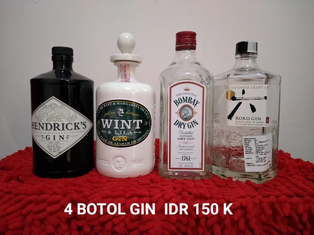 Botol bekas alkohol