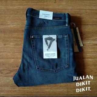 Celana jeans H&M slim straight 100% original