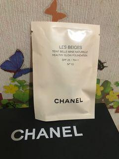 Chanel香奈兒裸光水慕絲粉底2.5ml