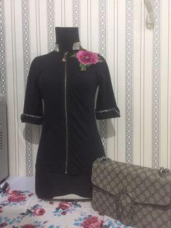 Chanel top / Chanel blouse / baju chanel/ baju import/ flower top/ floral top/ baju blink blink