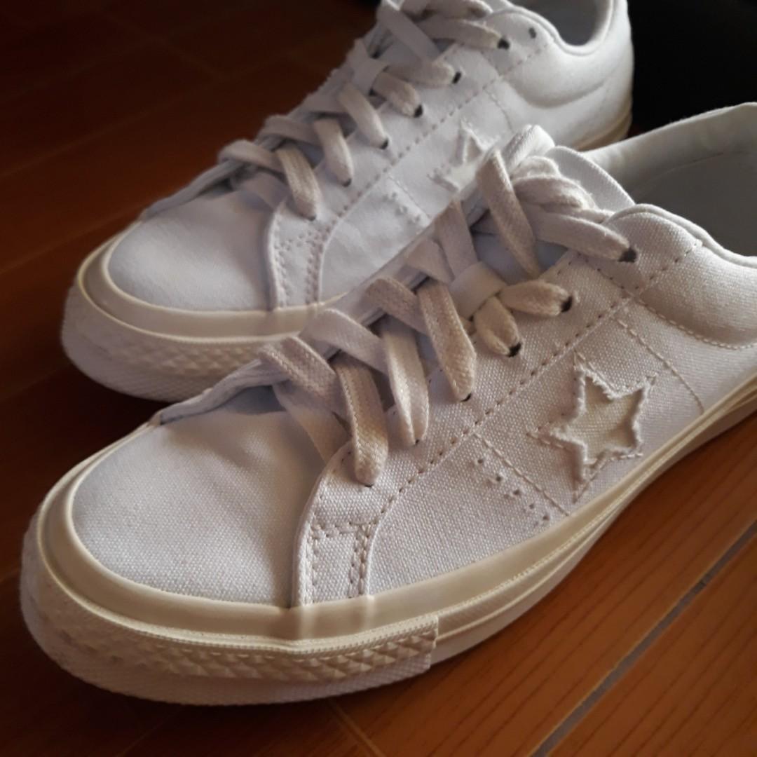 Converse One Star Cali Suede White