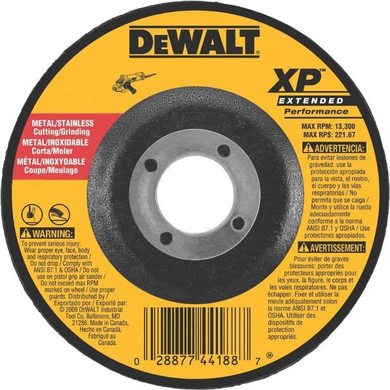 DeWALT DW8824 7-Inch by 1/8-Inch by 7/8-Inch XP Grinding Wheel