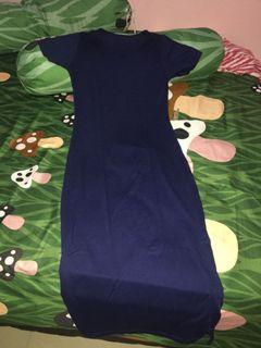 Dress kaos panjang