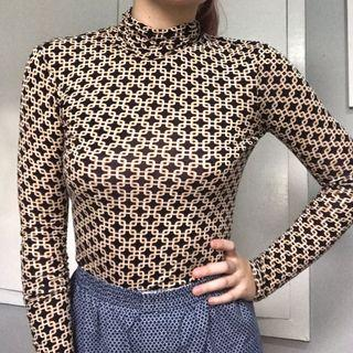 H&M Turtle Neck with Pattern