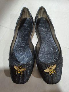 Jelly Bunny Black Flats. Never worn before.