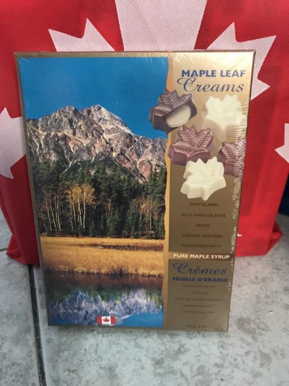 ❤Juliana's House❤加拿大代購楓糖漿爆漿楓糖巧克力84公克/盒 現貨供應中過年送禮配茶首選 情人節巧克力